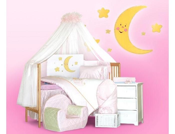 Постельные принадлежности , Комплекты в кроватку Tuttolina Shining Moon (7 предметов) арт: 32669 -  Комплекты в кроватку