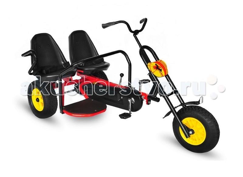 Детский транспорт , Педальные машины TVL Веломобиль Double арт: 70771 -  Педальные машины