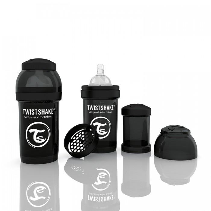 Бутылочки Twistshake с контейнером 180 мл индикатор качества смеси стоимость
