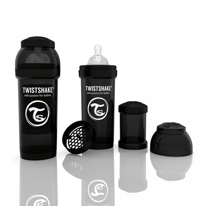 Бутылочки Twistshake с контейнером 260 мл индикатор качества смеси стоимость