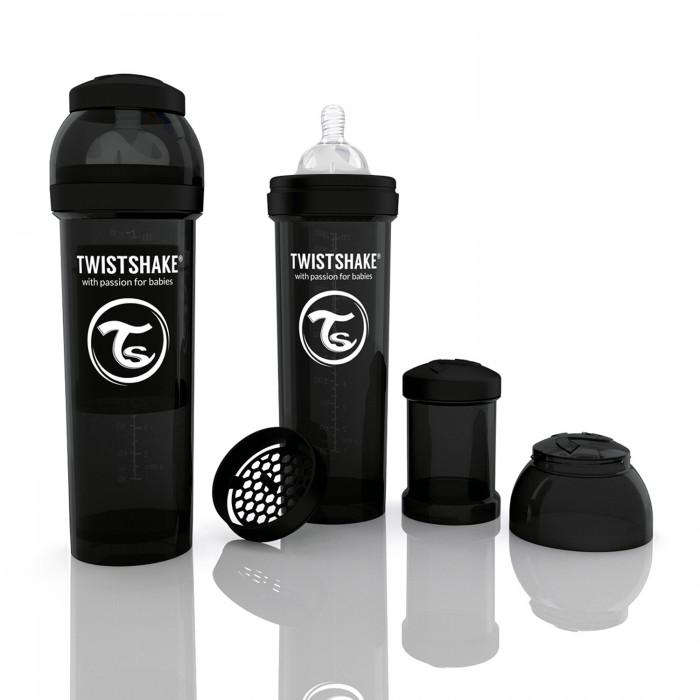 Бутылочки Twistshake с контейнером 330 мл индикатор качества смеси стоимость