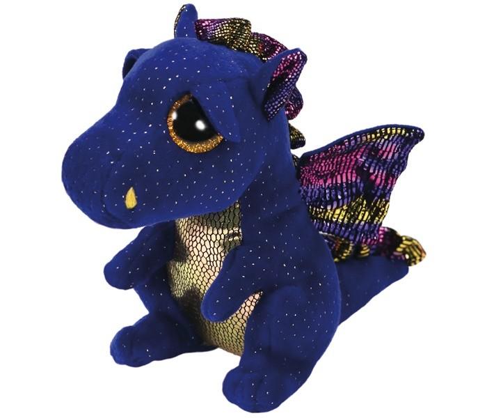Купить Мягкие игрушки, Мягкая игрушка TY Дракон Сафир 15 см
