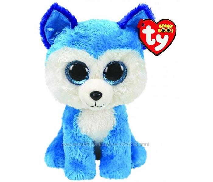Купить Мягкие игрушки, Мягкая игрушка TY Хаски Принц 15 см