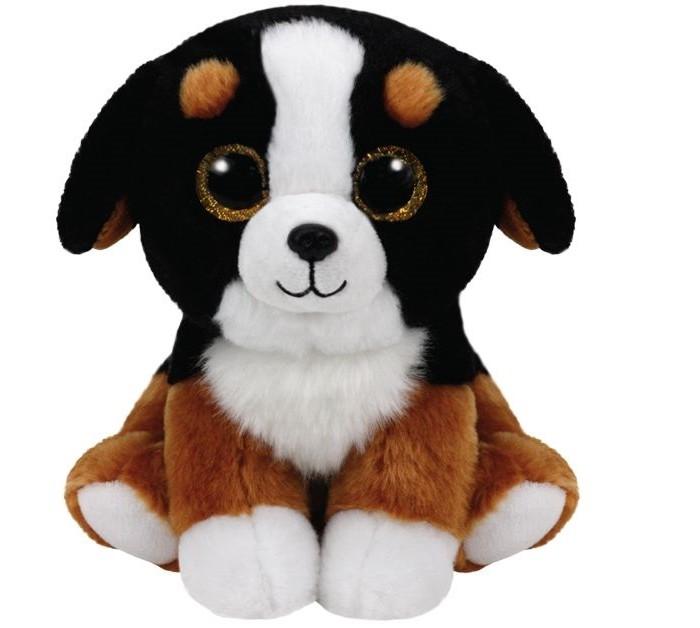 Купить Мягкие игрушки, Мягкая игрушка TY Роско собака 15 см