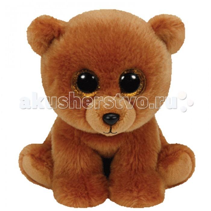 Мягкие игрушки TY Beanie Babies Мишка Brownie 15 см ty frizzy домовёнок tang 15 см 37138