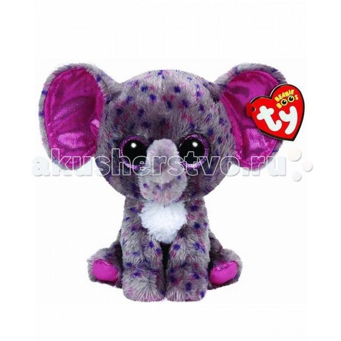 Мягкие игрушки TY Beanie Boos Слон Specks мягкая игрушка ty beanie boo s котенок sophie 15 см