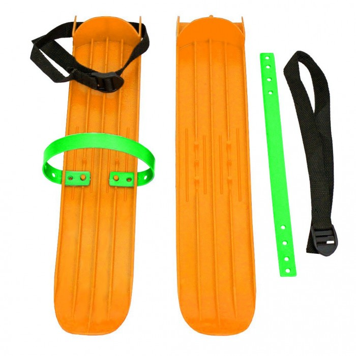 Ледовые коньки и лыжи Тяни-Толкай Мини-лыжи большие с ремнями Р-1 мини лыжи детские car design