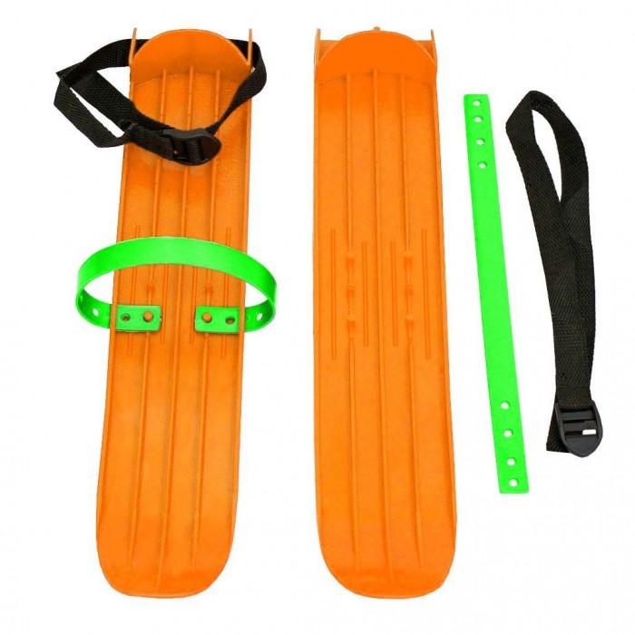 Ледовые коньки и лыжи Тяни-Толкай Мини-лыжи малые с ремнями РТ-2 мини лыжи детские car design