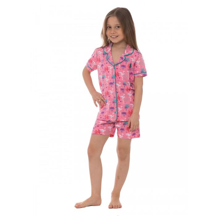 U.S. Polo Assn. Комплект для девочки US-453 (рубашка, шорты)