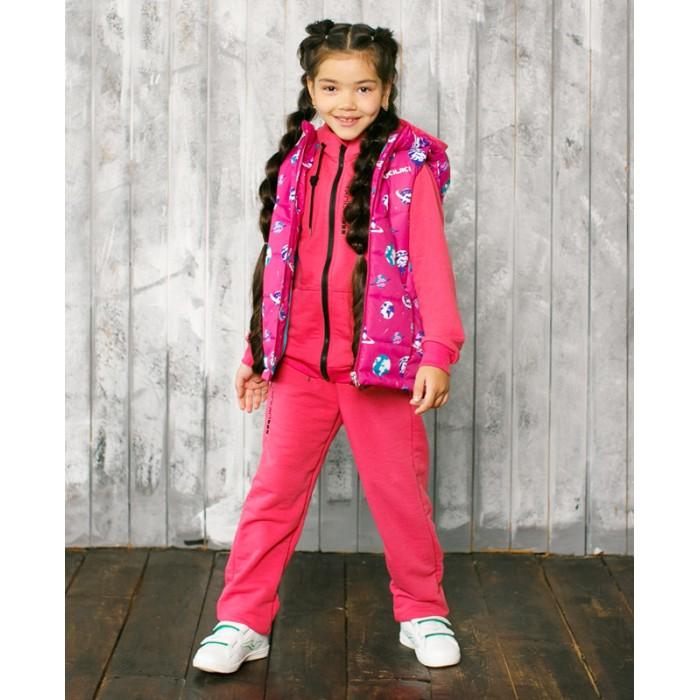 Верхняя одежда Uki kids Жилет для мальчика и девочки Космо верхняя одежда uki kids куртка утепленная для девочки меланж
