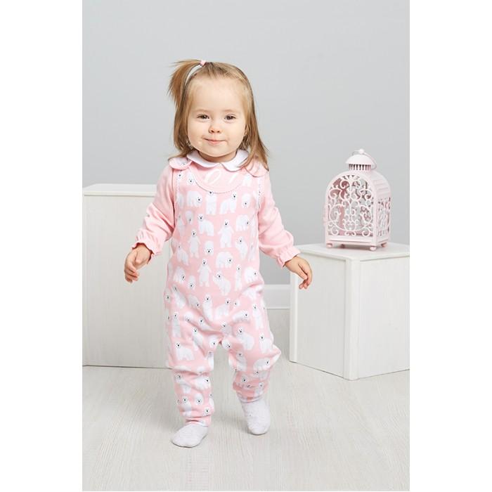 Комплекты детской одежды Умка Комплект для девочки (Кофточка и ползунки) 402-005-11701 умка лесные обитатели с винни пухом