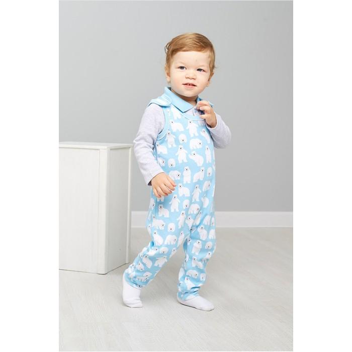 Комплекты детской одежды Умка Комплект для мальчика (Кофточка и ползунки) 302-004-11701 умка лесные обитатели с винни пухом