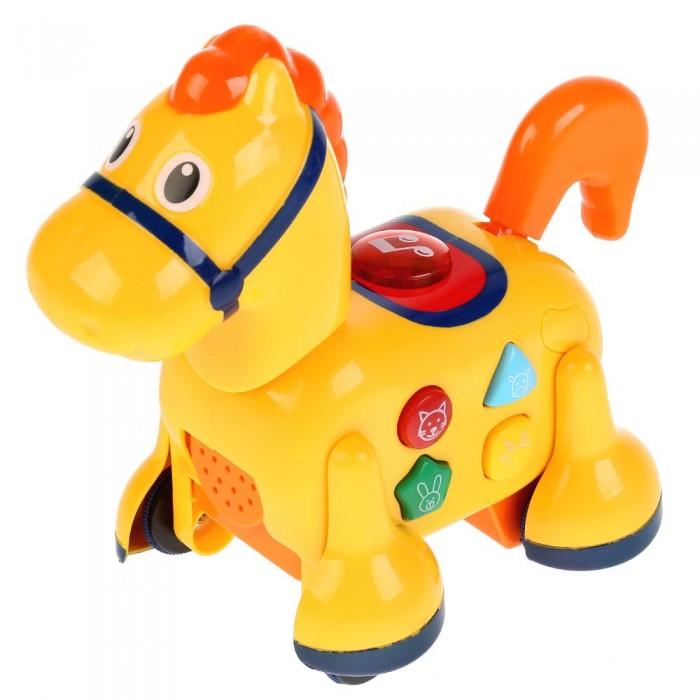 Купить Каталки-игрушки, Каталка-игрушка Умка обучающая Лошадка