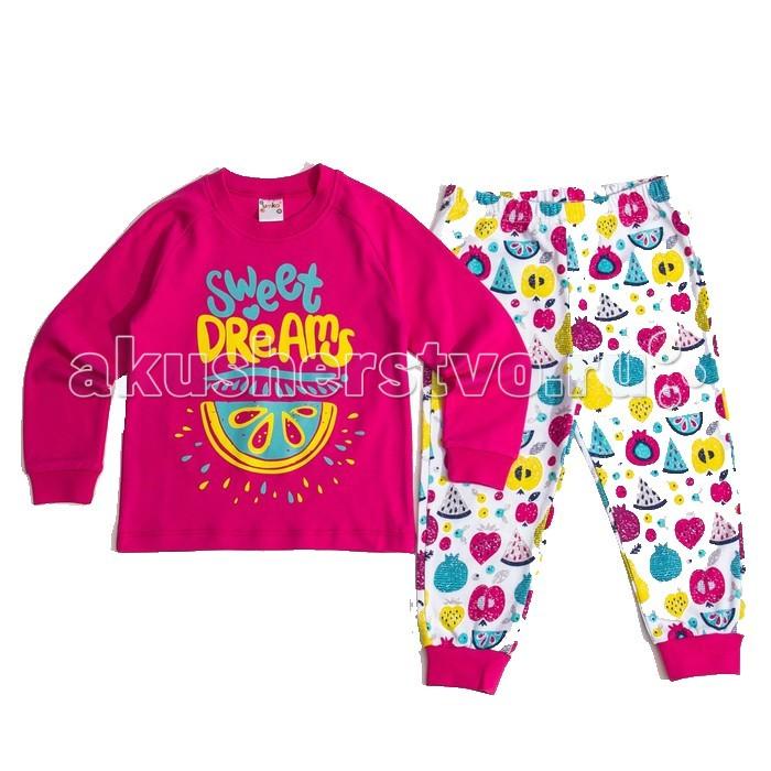 цена Пижамы и ночные сорочки Умка Пижама Фрукты 404-001 онлайн в 2017 году