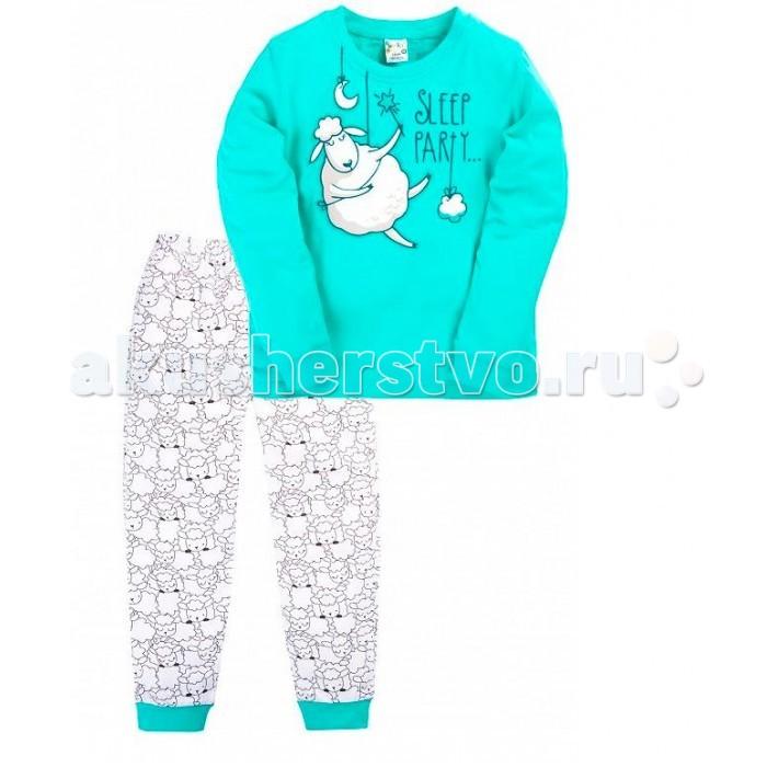 Пижамы и ночные сорочки Умка Пижама (кофточка и штанишки) для девочки