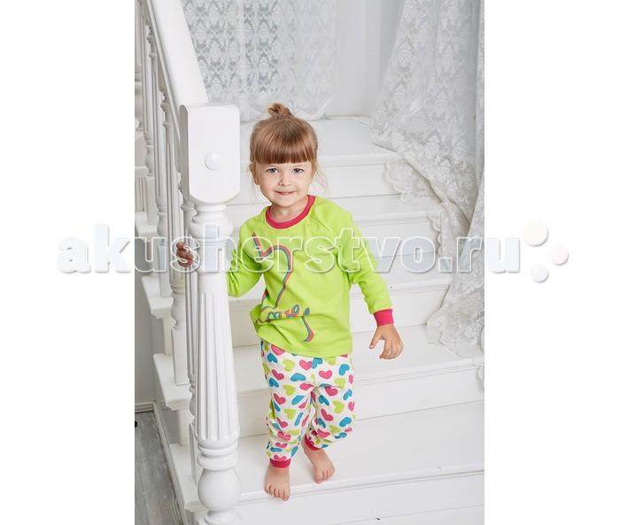 Пижамы и ночные сорочки Умка Пижама Сердечки AZ-405 умка лесные обитатели с винни пухом