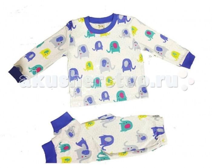 Пижамы и ночные сорочки Умка Пижама Слоники 304-001 пижамы kom пижама