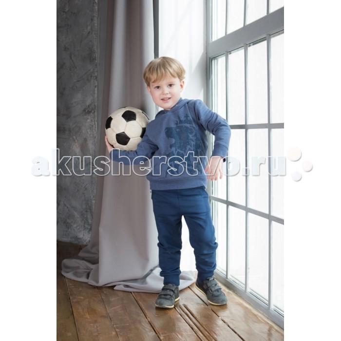 Умка Комплект (толстовка и брюки) М-184Комплект (толстовка и брюки) М-184Умка Комплект (толстовка и брюки) М-184  Спортивный костюм для мальчика синего цвета, толстовка с капюшоном с рисунком (лев), брюки с карманами, с манжетами из натурального высококачественного хлопкового трикотажа.  Состав: Хлопок 92%, лайкра 8% (футер)  Уход: автоматическая стирка до 40°  Миссия компании Умка – создание яркой, комфортной, качественной одежды, соответствующей тенденциям современной детской моды, для детей в возрасте от 0 до 12 лет по цене, доступной для широкого круга покупателей.  Компания Умка – ответственный производитель, который уделяет максимальное внимание качеству своей продукции. Трикотаж для детей отечественного производства сертифицирован и полностью соответствует всем требованиям, предъявляемым к детской одежде.<br>