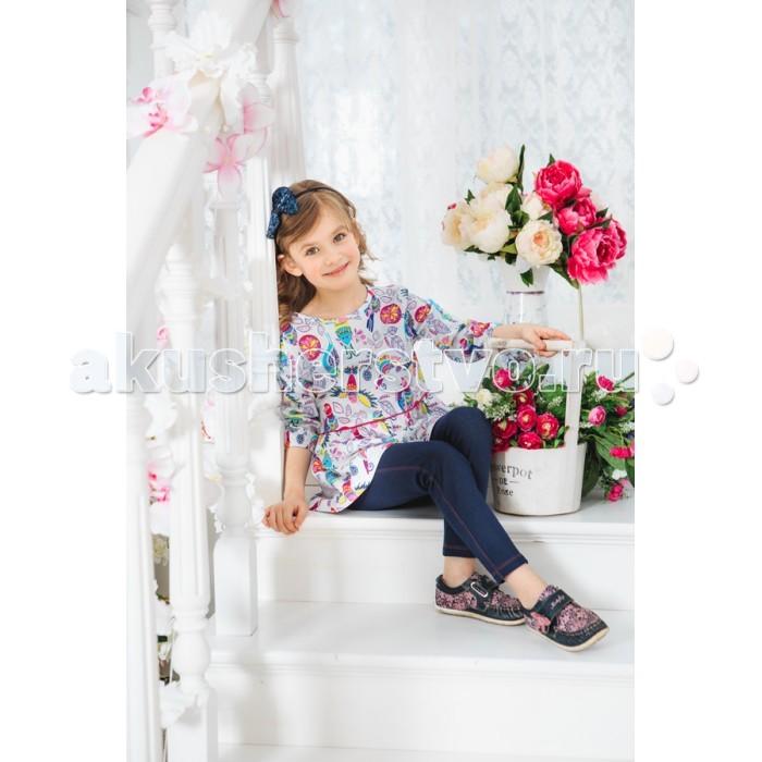 Комплекты детской одежды Умка Комплект (туника и легинсы) Птицы М-452