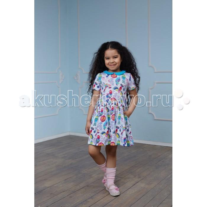 Детские платья и сарафаны Умка Платье Птицы AZ-751
