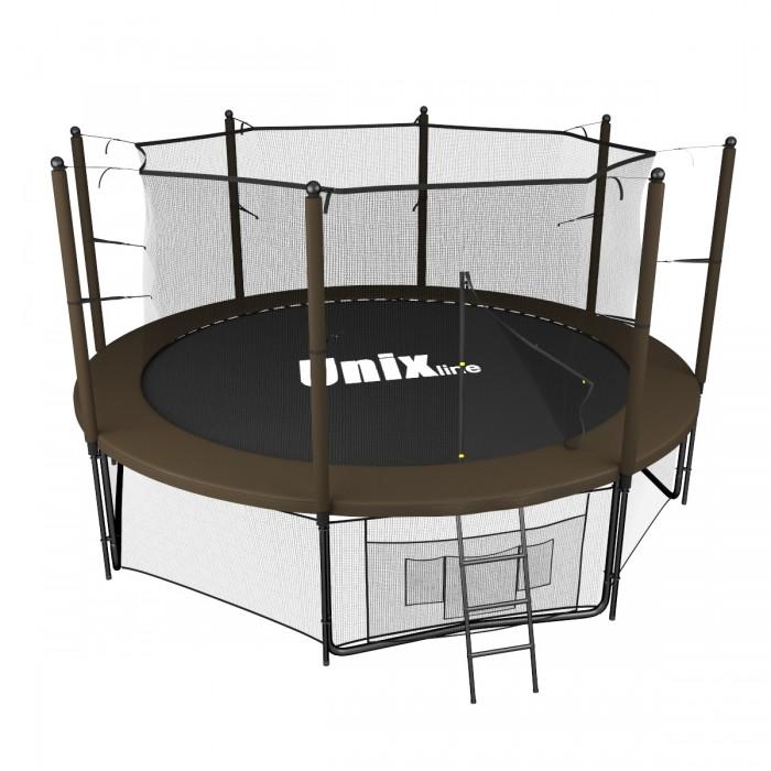 Unix line Батут Black&Brown Inside (366 см/12 ft)