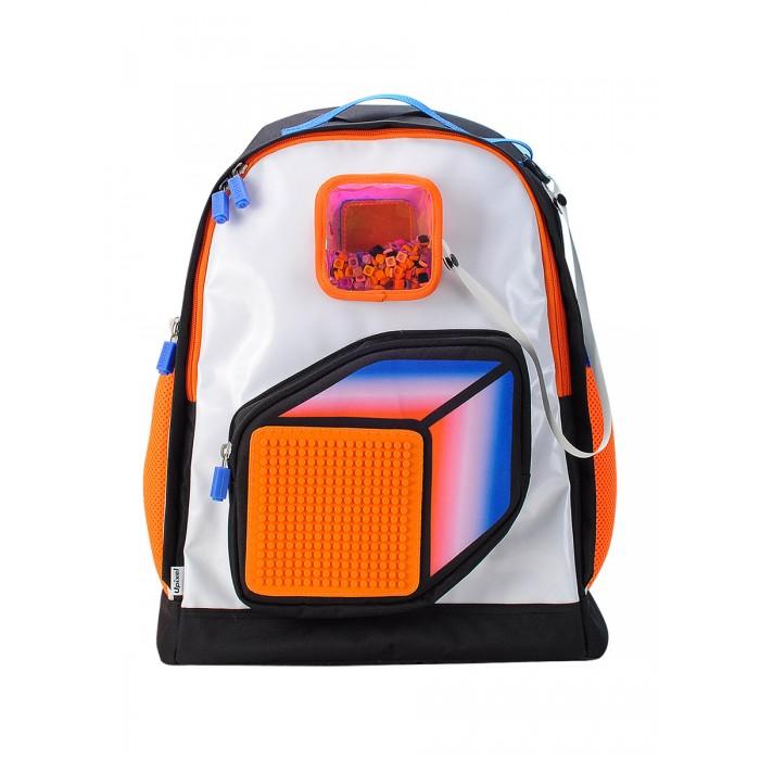 Upixel Детский Рюкзак Model Answer U18-009Школьные рюкзаки<br>Upixel Детский Рюкзак Model Answer U18-009  Удобный и красивый рюкзак. Привлекает много внимания  из-за необычного сочетания ярких цветов. Для тех, кто живет яркой жизнью, полной впечатлений и приключений.   В комплекте идут маленькие пиксели (фишки) разноцветные 180 шт. Размер пиксельной панели 15х15 см.  225 точек крепления.