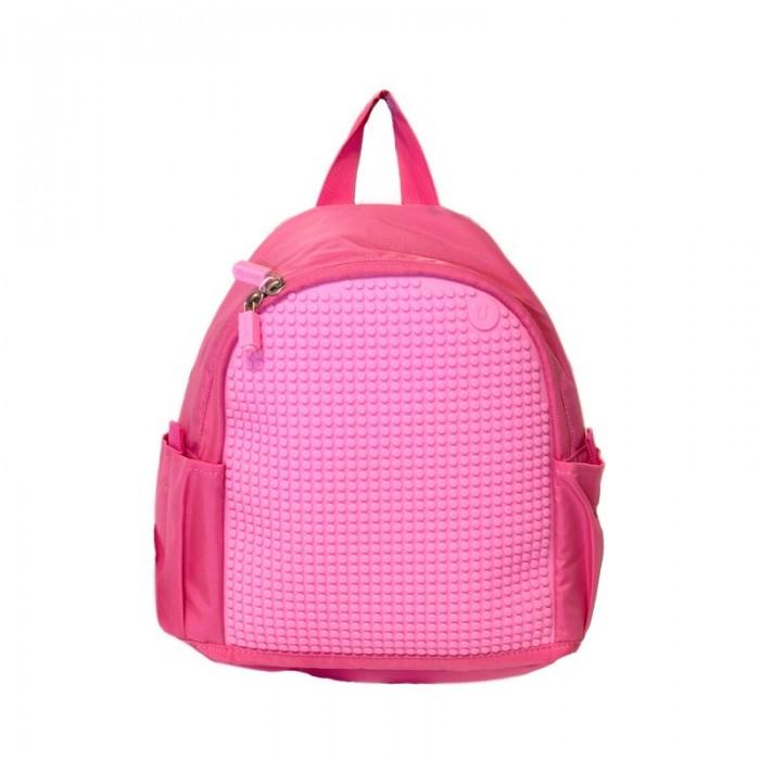 Upixel Мини рюкзак Mini Backpack WY-A012Школьные рюкзаки<br>Upixel Мини рюкзак Mini Backpack WY-A012 Небольшой аккуратный рюкзачок для дошкольника, в котором ребенок будет носить любимые игрушки и другие вещи для прогулки.   Подойдет для посещения дополнительных занятий, секций и кружков, а так же для путешествий и поездок. Большая пиксельная панель позволит не скучать в поездке и украсить рюкзак изображениями любимых персонажей.  Комплект: Рюкзак, 120 пиксельных фишек Размер: 29 x 10 x 23.5 см