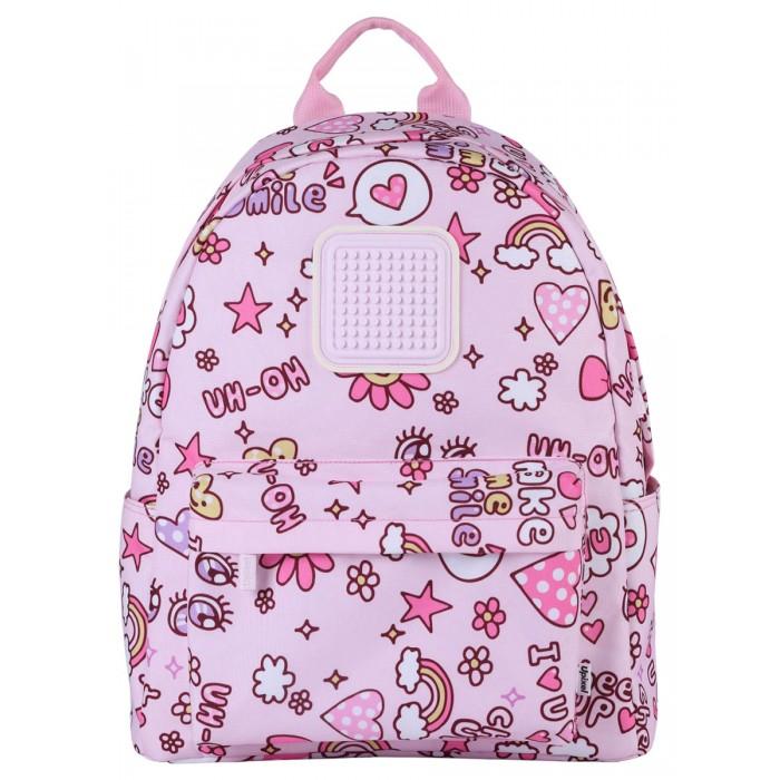 Купить Школьные рюкзаки, Upixel Рюкзак Funny square U18-1 для девочек