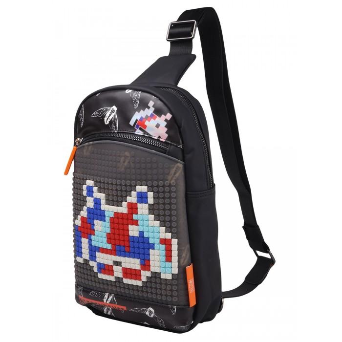 Школьные рюкзаки Upixel Сумка через плечо пиксельная Independence BY-NB011