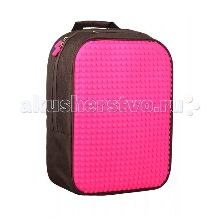 Школьные рюкзаки Upixel Пиксельный рюкзак большой (ортопедическая спинка) Canvas classic pixel Backpack WY-A001 школьные рюкзаки zipit рюкзак zipper backpack
