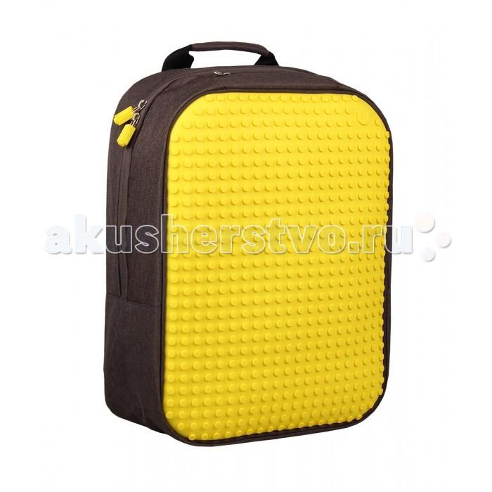 Картинка для Upixel Пиксельный рюкзак большой Canvas classic pixel Backpack WY-A001