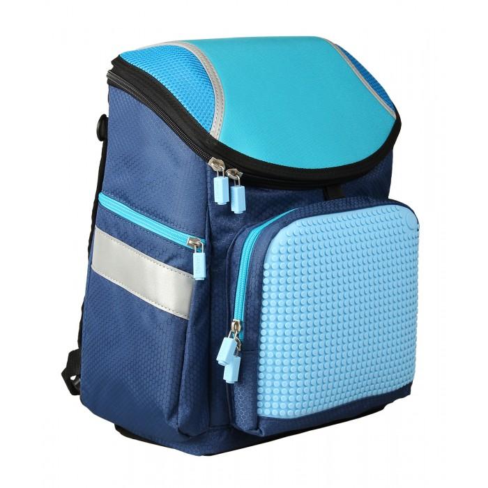 Upixel Школьный рюкзак Super Class school bag WY-A019Школьный рюкзак Super Class school bag WY-A019Upixel Школьный рюкзак Super Class school bag WY-A019 поиски школьного рюкзака это порой целая дилемма. Он должен быть, в первую очередь красивым по запросу малыша, а по родительскому подходу, практичным, крепким и вместительным. Данный вариант подходит по всем запросам и не мало важно, что для ребенка может стать главным, это возможность изменения внешнего вида рюкзака, так как оформление полностью зависит от фантазии малыша. А окрас будет идеально подчёркивать практически любой пиксельный арт создаваемый маленьким дизайнером.  Особенности: размеры: 26 х 36 х 15 см  вес: 1,02 кг поверхность: 31 ряд, 26 линий материал: ткань 100% подкладка: 100% полиэстер панель: 100% силикон вместимость - 7 литров размер пикселей: маленький  пиксели в комплекте: 120 шт.   дополнительно: фирменный буклет с возможными вариантами изображений. Рюкзак с ортопедической спинкой, уплотнёнными стенками, дном и каркасом, что позволяет удерживать форму. Выполнен из материала с водостойкой пропиткой. Оснащён тремя внешними карманами, лицевой под пиксельной панелью на молнии с фирменной застёжкой, плотный боковой с аналогичной застёжкой, второй боковой сетчатый на резинке. Регулируемые по длине лямки с дополнительной пластиковой фурнитурой. Закрывается уплотненной крышкой на молнии, что так же способствует удержанию формы рюкзака. Внутри оснащён просторным отделением с кармашками по спинке в виде гармошки для распределения учебников и тетрадей, дополнительно вложен пластиковый вкладыш для уплотнения дна.<br>