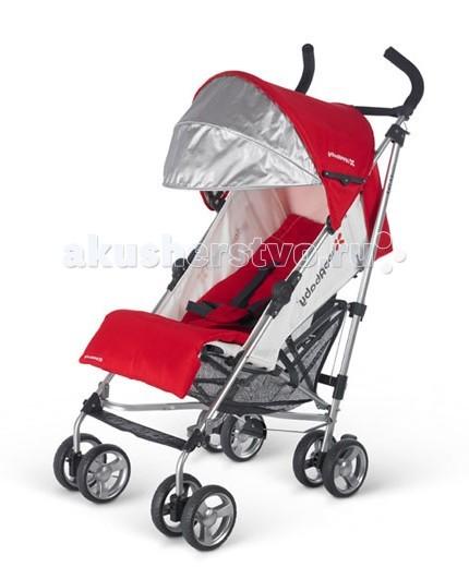 Коляска-трость UPPAbaby G-luxeG-luxeКоляска-трость UPPAbaby G-luxe – это отличный вариант для путешествий и прогулки, т.к. имеет небольшой вес (6кг) и компактна при перевозке. Отличительным плюсом коляски является то, что она в сложенном виде она стоит, благодаря специальной подножке. Как и у других моделей UPPAbaby коляска-трость G-luxe имеет большой капор, защищающий вашего ребенка от вредных воздействий ультрафиолетовых лучей и непогоды. 3 уровня регулировки позволит Вашему малышу спать в коляске и наблюдать за окружающим миром.   Особенности: 3 уровня регулировки спинки сидения до 149 градусов (регулируется одной рукой) Регулируемая подножка Уникальная система складывания (двумя пальцами) Качественные водоотталкивающие и пятноотталкивающие материалы Большой серебряный капор, предотвращающий вредное воздействие ультрафиолетовых лучей Поворотные  Ремень для переноски передние колеса, с возможностью фиксации Большая корзина для вещей Пятиточечный ремень безопасности Дополнительный мягкий вкладыш для сидения Оснащена ножкой для стоячего положения в сложенном виде Ножной тормоз Легкая алюминиевая рама. В комплекте: Подстаканник Съемный вкладыш. Размеры и вес: Размеры в разложенном виде: 51х84х108 см  Размеры в сложенном виде: 30.6х41х108 см  Вес: 6 кг.<br>