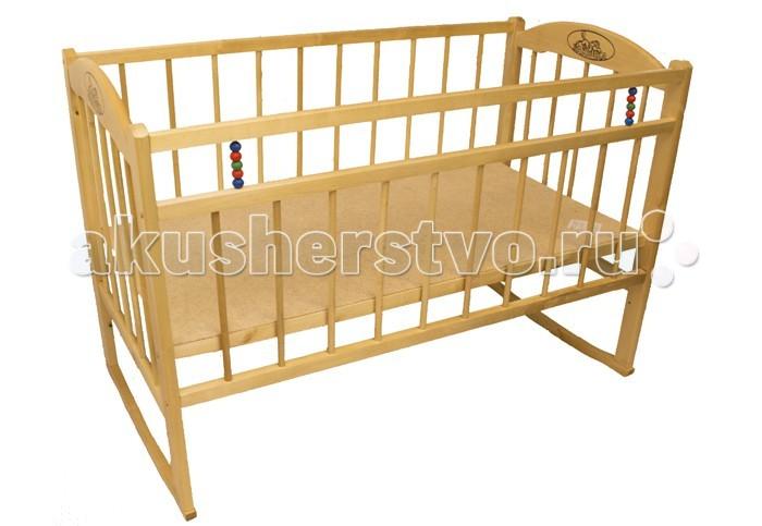 Детские кроватки Уренский Леспромхоз Заюшка 3-1 (качалка) детская мебель