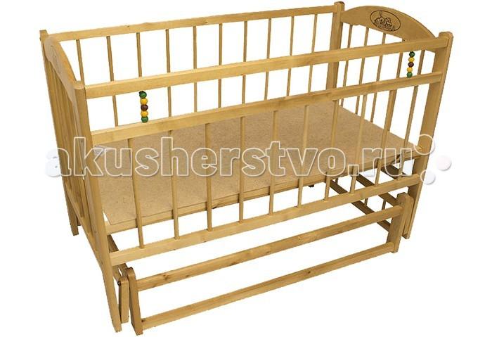 Детская кроватка Уренский Леспромхоз Заюшка 3-6 (маятник поперечный)