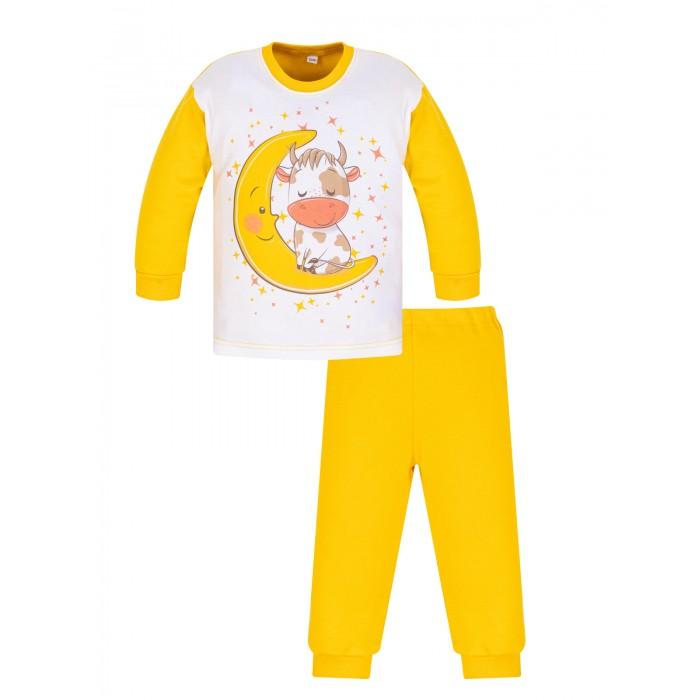 Купить Домашняя одежда, Утёнок Пижама детская Бычок на луне