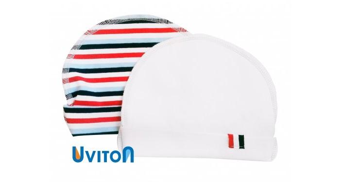 Шапочки и чепчики Uviton Набор шапочек 2 шт. одежда для новорождённых