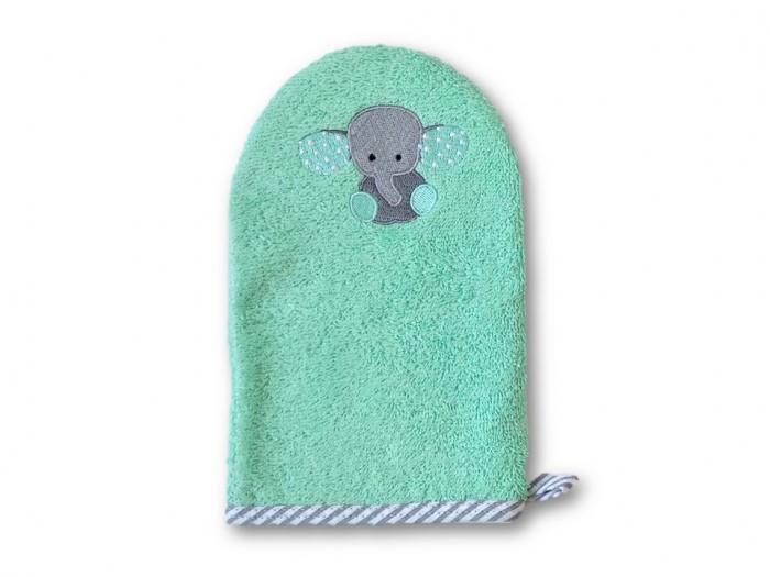 Мочалки Uviton Рукавичка для купания Baby мочалки jollein салфетки для купания 2 шт