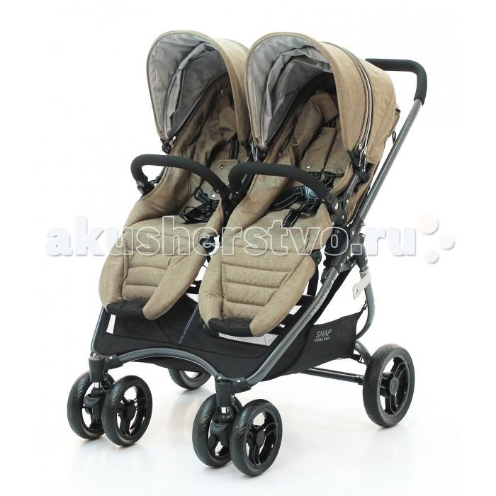 Детские коляски , Коляски для двойни и погодок Valco baby Коляска для двойни Snap 4 Ultra Duo арт: 229513 -  Коляски для двойни и погодок