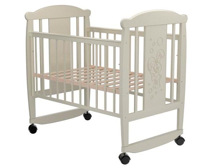 Детские кроватки Valle Bunny 02 колесо-качалка