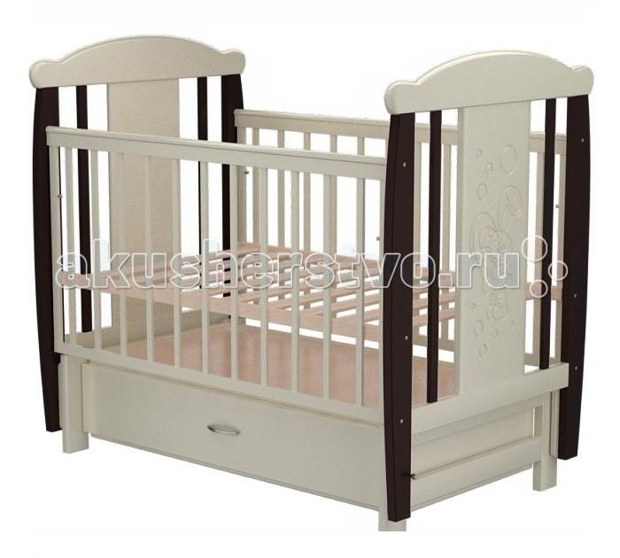 Детские кроватки Valle Bunny 04 маятник поперечный с ящиком