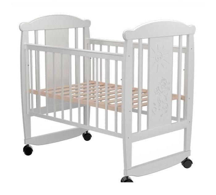 Детские кроватки Valle Cat 02 колесо-качалка