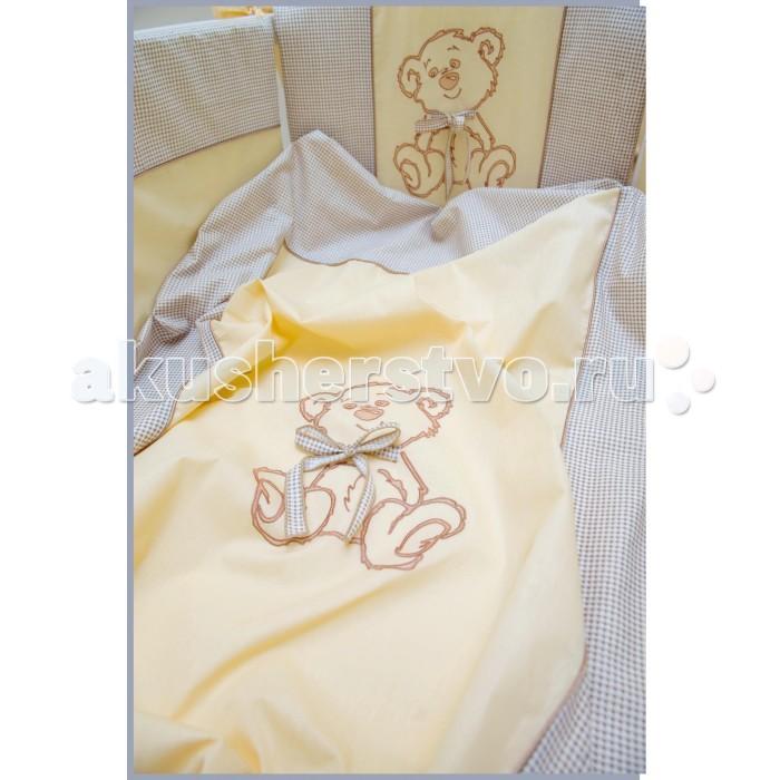 Комплект в кроватку Valle для овальной кроватки Peekaboo (7 предметов)для овальной кроватки Peekaboo (7 предметов)Комплект в кроватку Valle для овальной кроватки Peekaboo (7 предметов) полностью экологичен и не содержит токсинов. Бортики с использованием наполнителя холлкон имеют долгий срок эксплуатации. Также материал сберегает тепло и сохранит идеальный внешний вид бортиков. Безопасно для аллергиков.   Бортики-домики с различными вариантами декора,цветное одеяло со стежкой из хлопка,цветная подушка,комплект простыней на резинке  Комплектация: балдахин из сетки бортики на 4 стороны кроватки одеяло 110 х 140 пододеяльник с аппликацией медвежонка по центру наволочка простыня на резинке подушка 40 х 60<br>