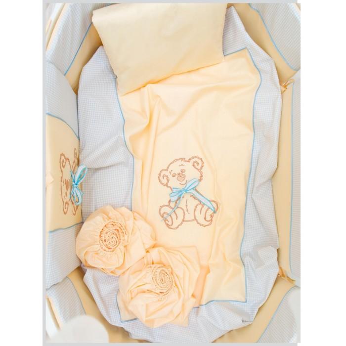 Комплекты в кроватку Valle для овальной кроватки Peekaboo (7 предметов)