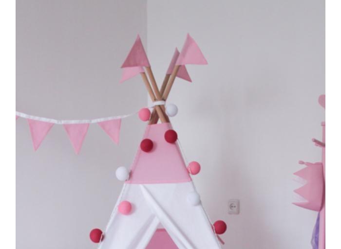 Палатки-домики VamVigvam Флажки к вигваму 4 шт. vamvigvam детский ночник pineapple