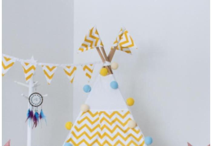Палатки-домики VamVigvam Флажки к вигваму Zigzag 4 шт. vamvigvam детский ночник pineapple