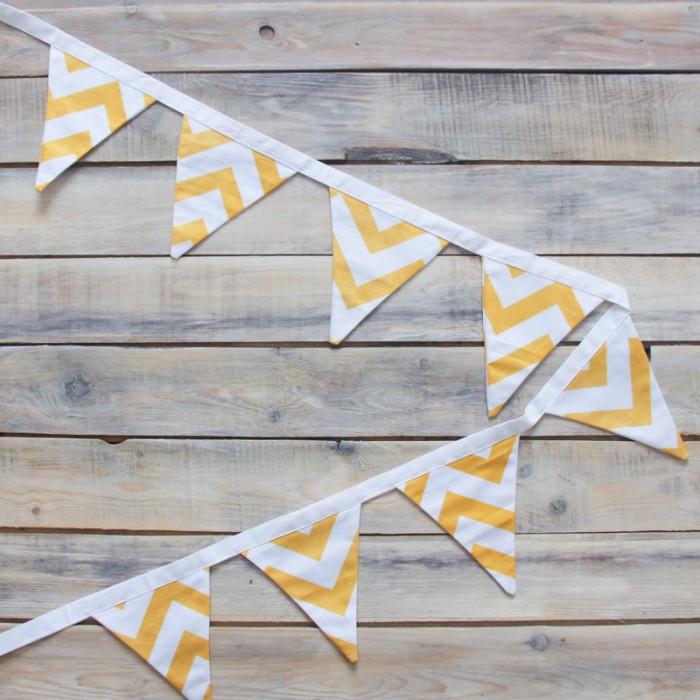Товары для праздника VamVigvam Гирлянда из 8 флажков Zigzag vamvigvam детский ночник pineapple