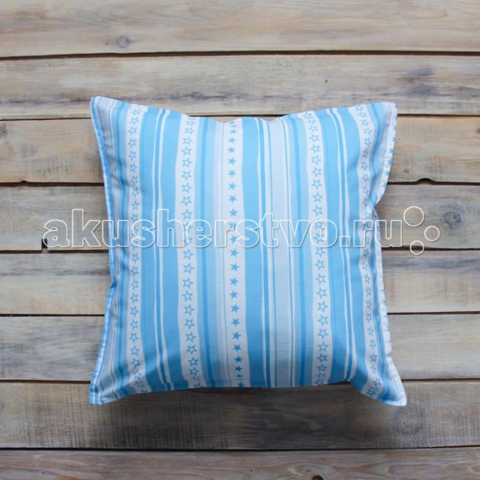 Постельные принадлежности , Подушки для малыша VamVigvam Подушка Stripes 40х40 арт: 296986 -  Подушки для малыша