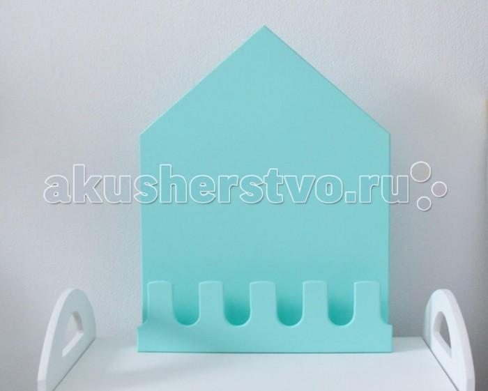 Аксессуары для детской комнаты VamVigvam Полка-домик Munich аксессуары для детской комнаты vamvigvam детская вешалка плечики