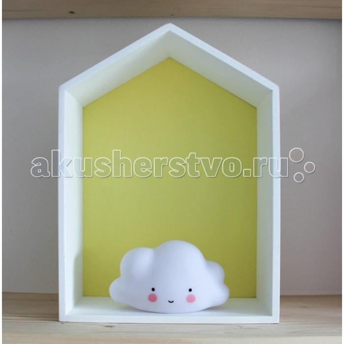 Детская мебель , Аксессуары для детской комнаты VamVigvam Полка-домик Porto арт: 297118 -  Аксессуары для детской комнаты